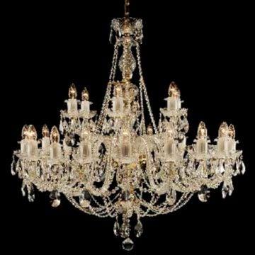 Large ornate chandelier