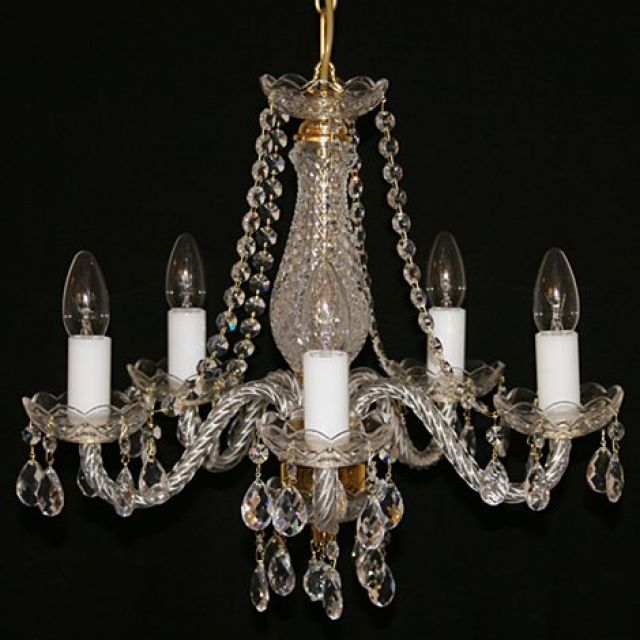Small ornate chandelier