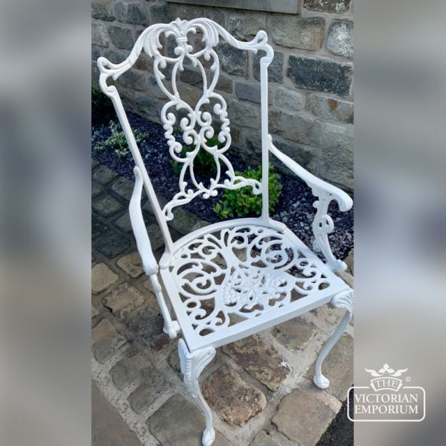 Victorian High Back Carver Chair with or without arms