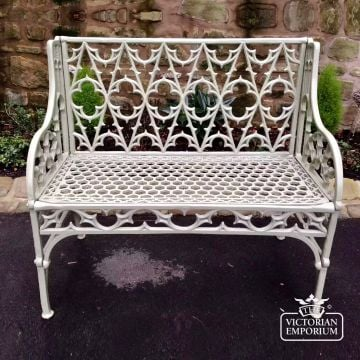 Victorian Cast Toulouse French Style Garden Bench