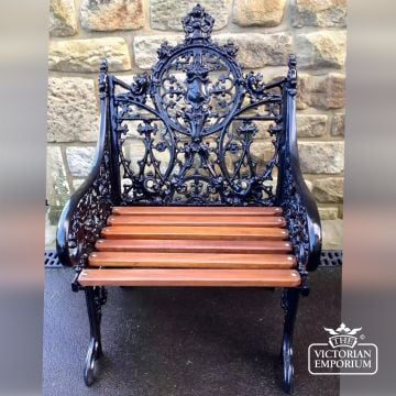 Victorian Cast Gothic Style Chair