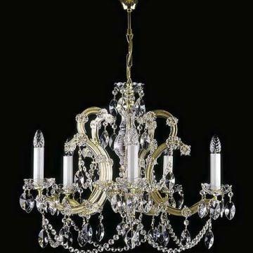 Ve-crystal pendent chandelier mt1