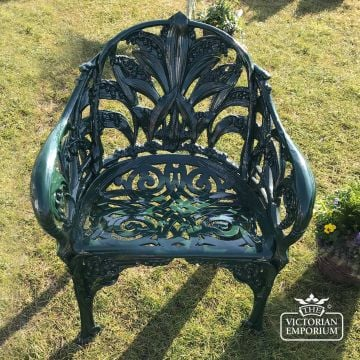 Victorian Lily of the Valley Design Chair