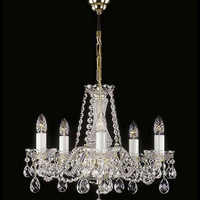 Small ornate chandelier 2