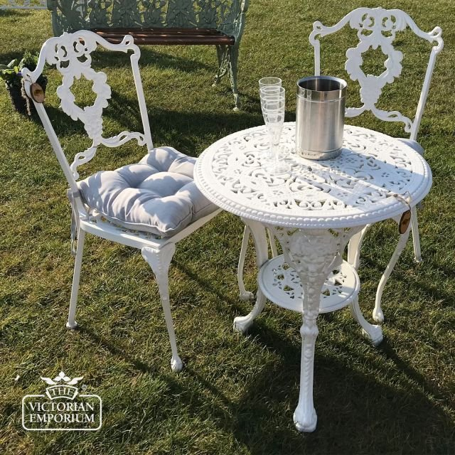 Victorian High Back Grape Design Chair