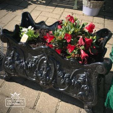 Victorian Cast Garden Planter