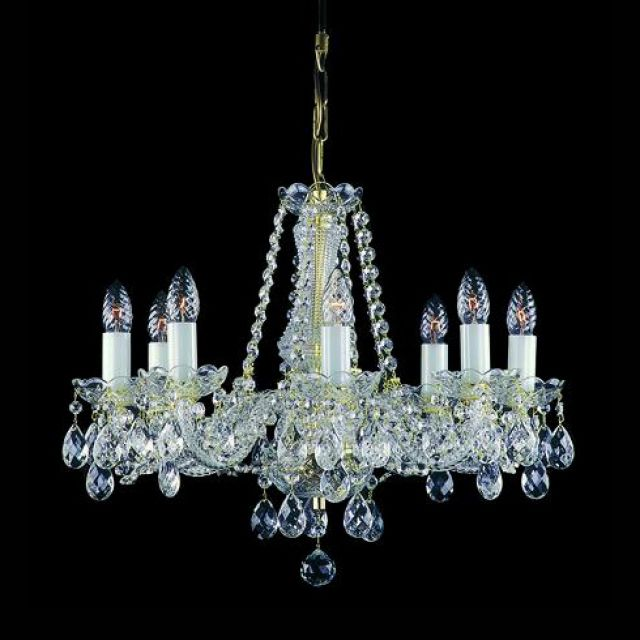 Medium ornate chandelier