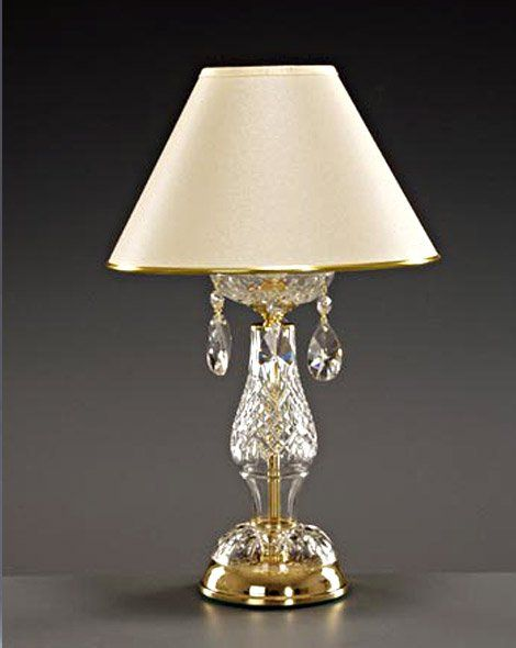 Lead crystal table lamp table and desk lamps lead crystal table lamp aloadofball Images
