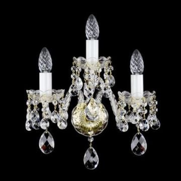 Elegant 3 arm wall sconce
