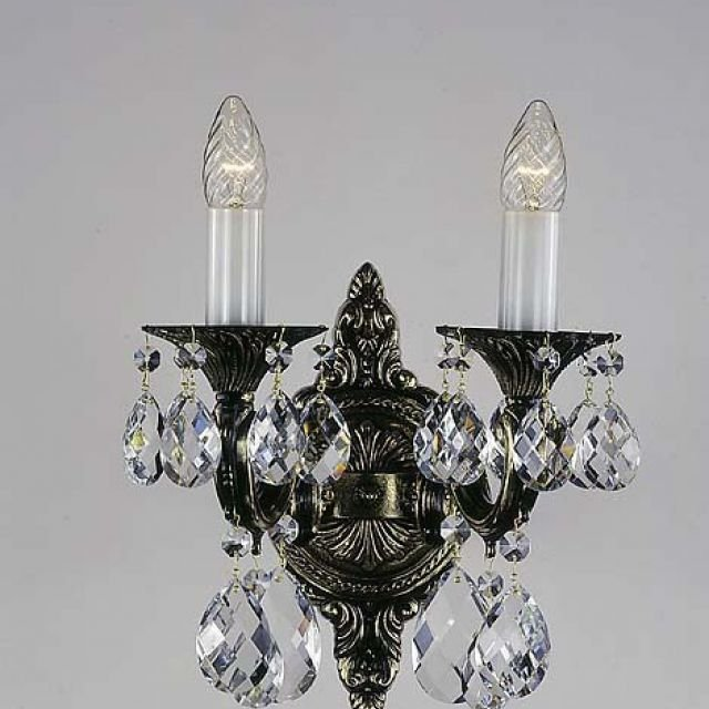 Stunning Bohemian Crystal Wall Sconce Interior Wall Lights