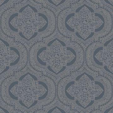 Geometric Flowers Wallpaper