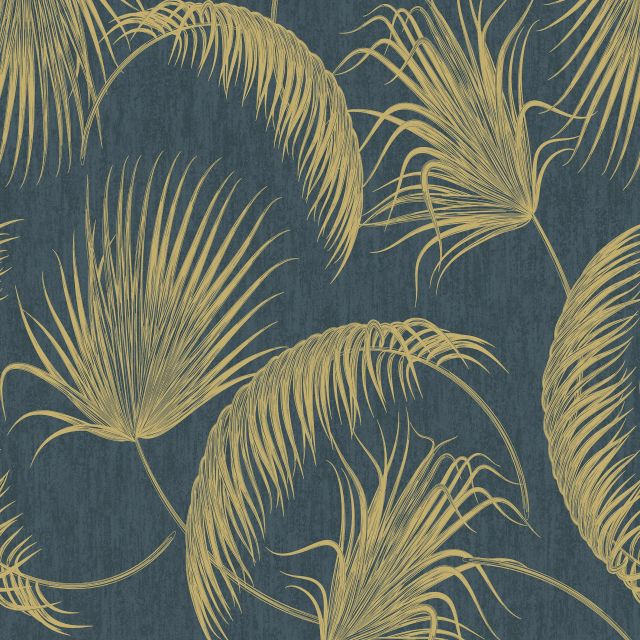Oasis Fronds Wallpaper