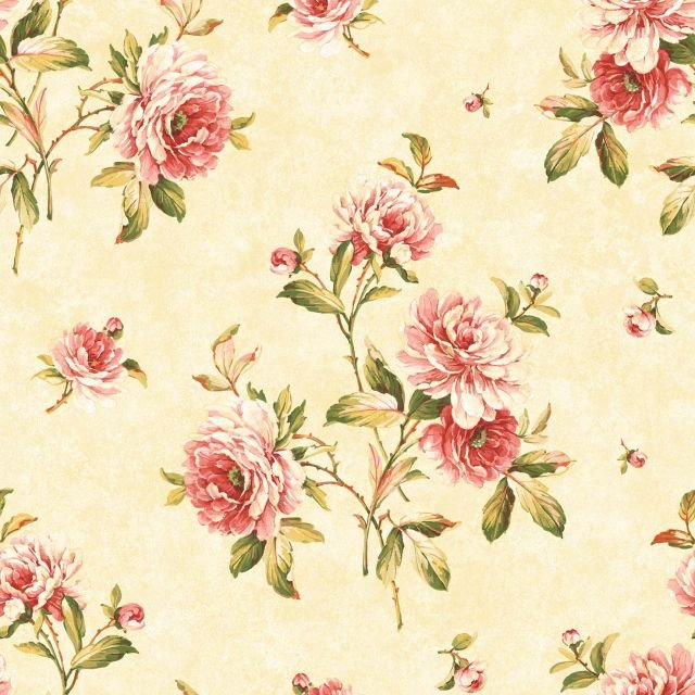 Sumptuous Roses Wallpaper