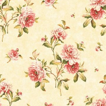 Sumptuous Roses Wallpaper