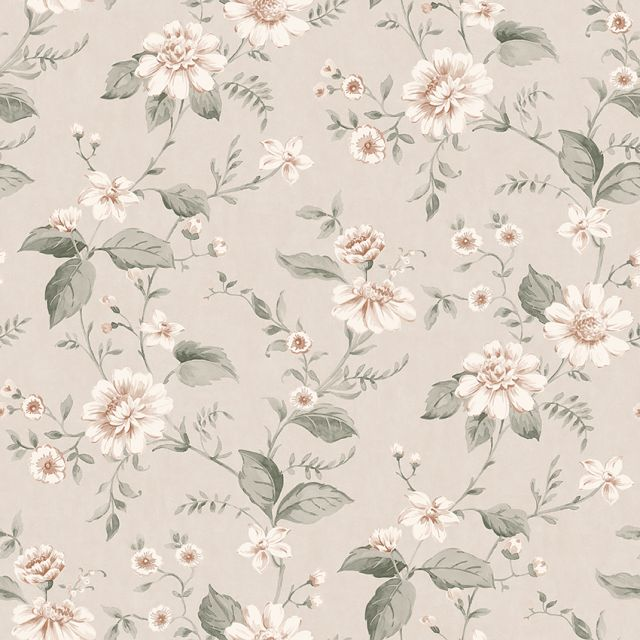 Laura's Cottage Flowers wallpaper