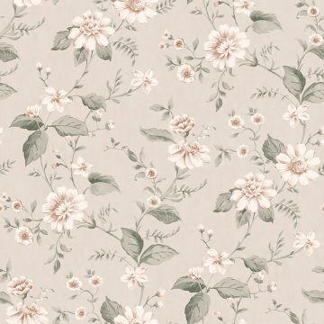 Laura's Cottage Flowers wallpaper