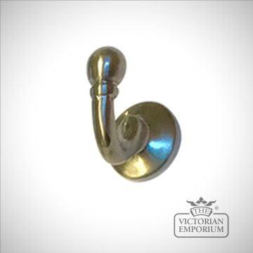 Brass Ball End Tassel Hook with Integral Screw