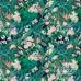 Period Kahanu Wallpaper Emerald Cw64 140cm Side Match