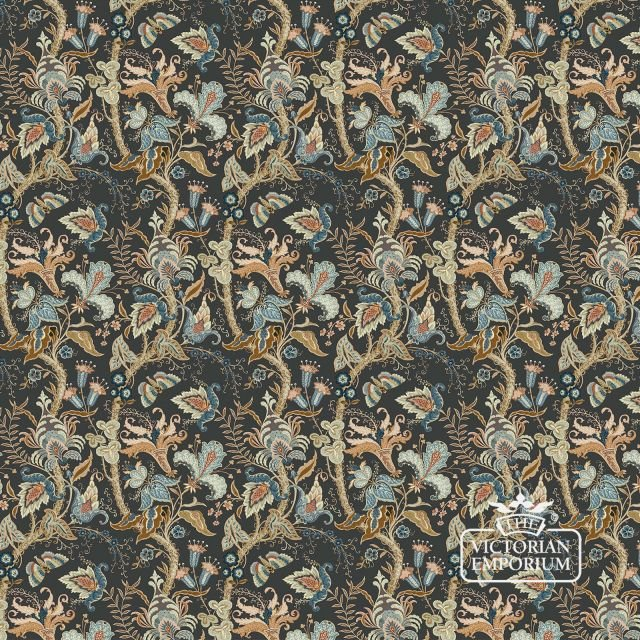 Uhura wallpaper in charcoal, chilli or pearl