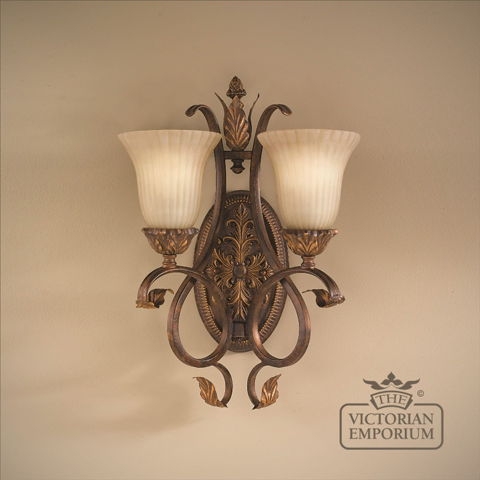 Reproduction victorian wallpaper guide the victorian emporium - Sonoma Twin Wall Sconce Sonoma Twin Wall Sconce