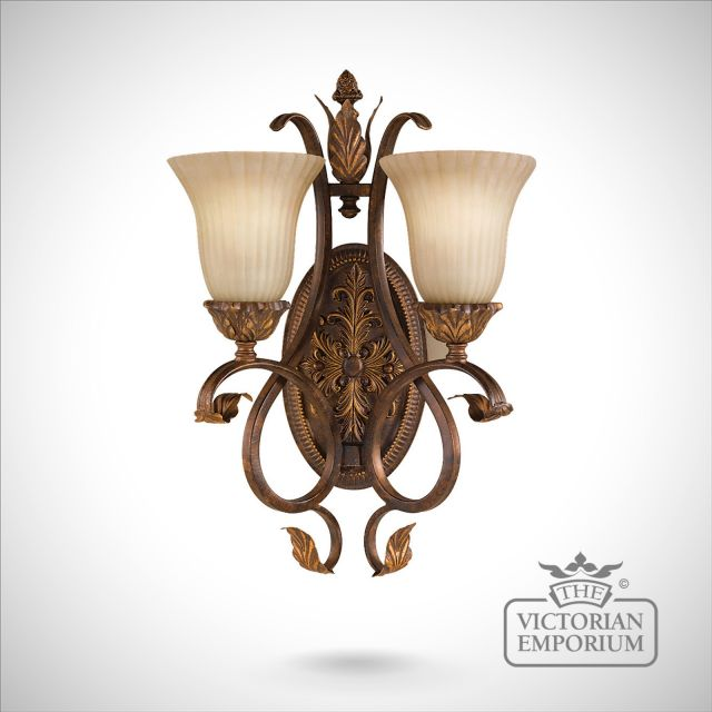 Sonoma twin wall sconce