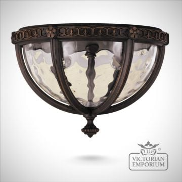 Regent flush mount light