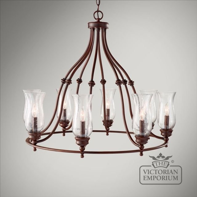Pickering 8 light chandelier