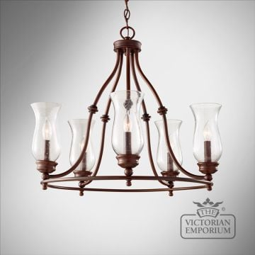 Pickering 5 light chandelier