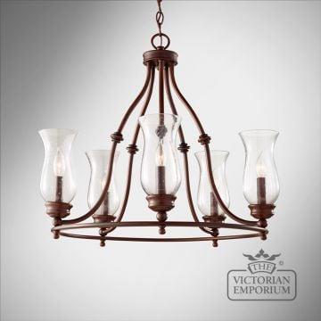 Pickering 5 light chandelier