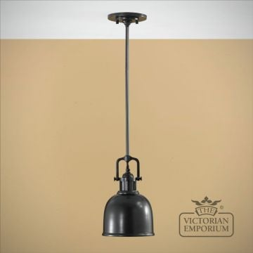 Parker mini pendant in dark bronze