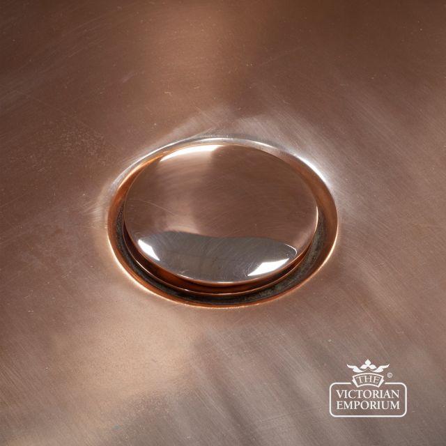 Click Clack Bath Waste - in Chrome, Nickel, Brass or Copper