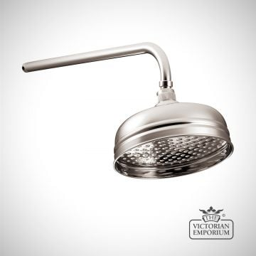 """Shower Rose - 8""""- in Chrome, Nickel or Copper"""