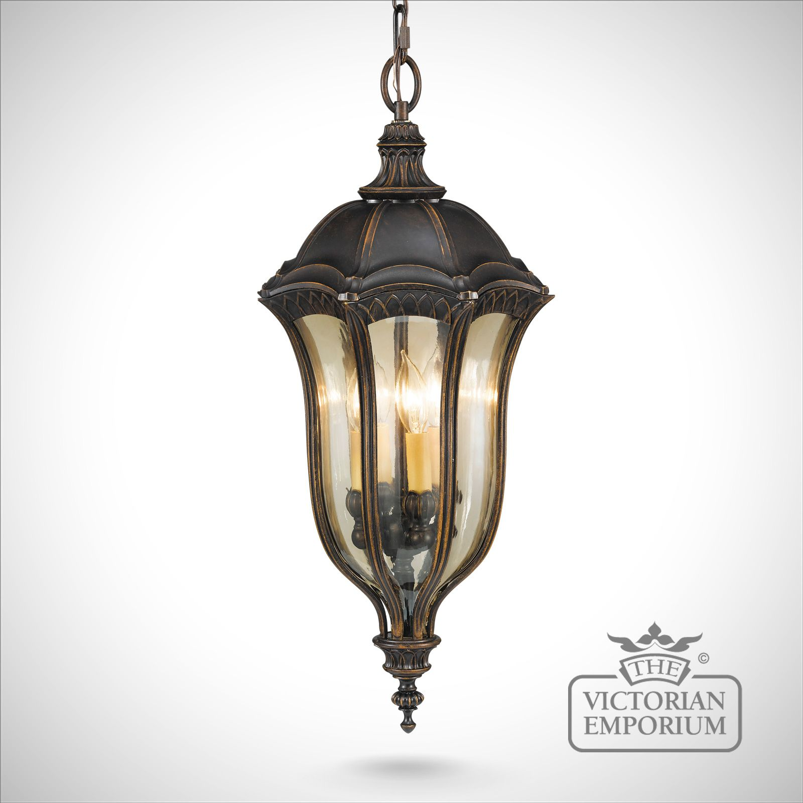 Exterior Lighting: Baton Ceiling Chain Light