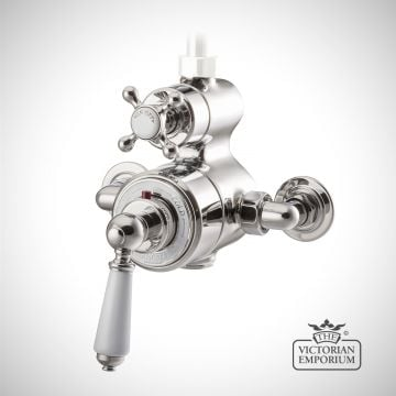 Exposed Thermostatic Shower Valve - in Chrome, Nickel or Copper