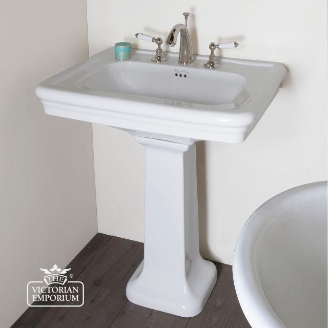 Hampton Pedestal basin for Victorian bathrooms