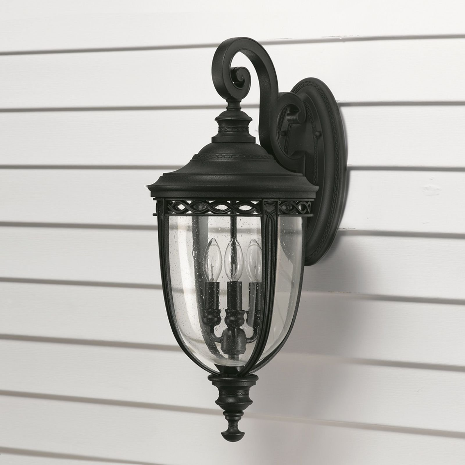 bridle wall light in black large outdoor wall lights. Black Bedroom Furniture Sets. Home Design Ideas