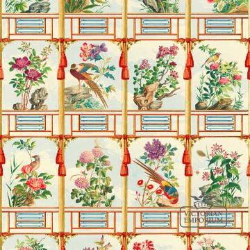 Flowering Wall Wallpaper