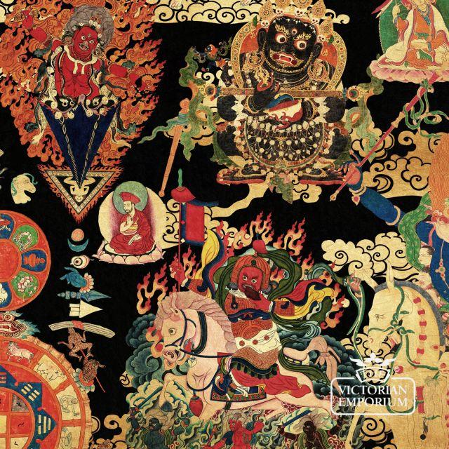 Tibetan Tapestry Wallpaper
