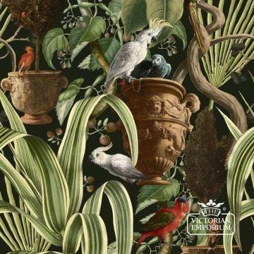 Exotic Menagerie Wallpaper