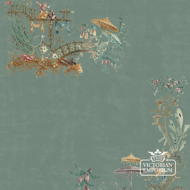 French Chinoserie Wallpaper