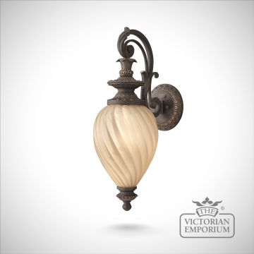 Montreal wall lantern - small