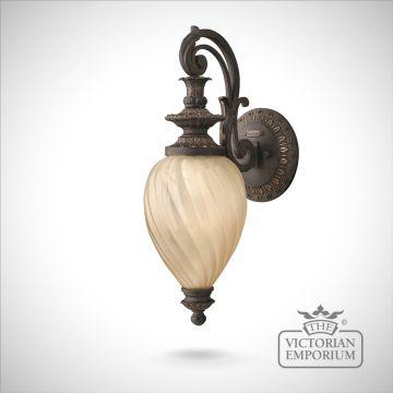 Montreal wall lantern - large