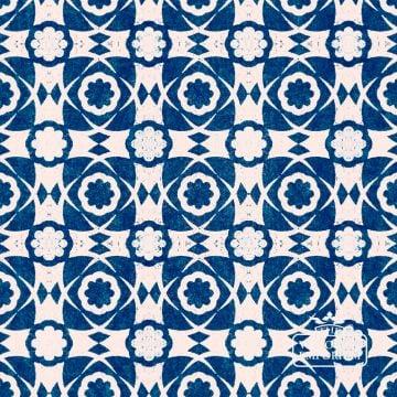 Aegean Tiles Wallpaper