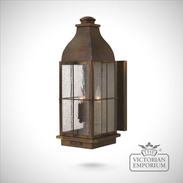 Bingham wall lantern - large
