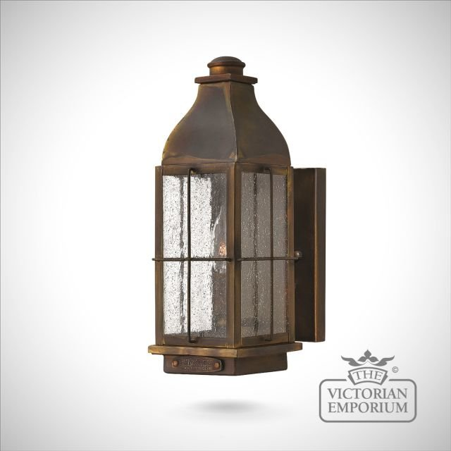 Bingham wall lantern - small, medium or large