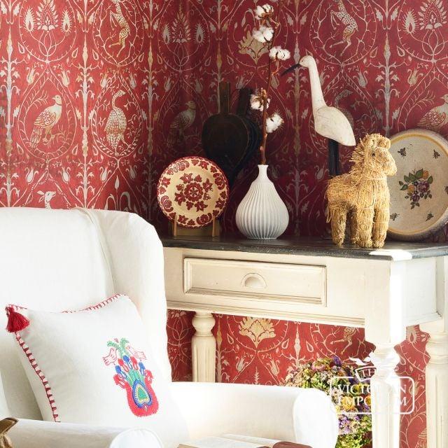 Hunters Tapestry Wallpaper