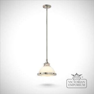 Amelie mini pendant - small chrome