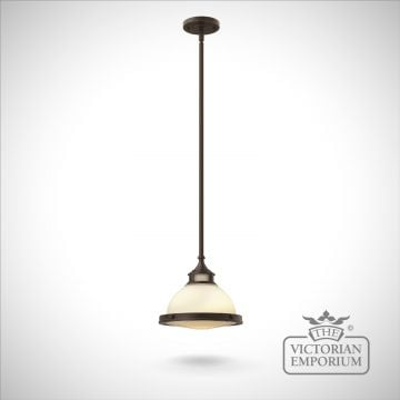 Amelie mini pendant - small bronze or chrome