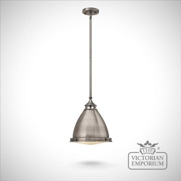 Amelie medium pendant - Polished Antique Nickel