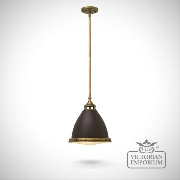 Amelie medium pendant - Buckeye Bronze/Restoriation Bronze